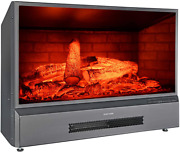 32 Inches Electric Fireplace Insert Free Standing Fireplace Heater With Remote