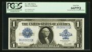 1923 1 Silver Certificate Banknote Fr238 Gem Uncirculated Certified Pcgs-66-ppq