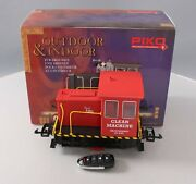 Piko 38506 G Scale Clean Machine R/c Ge 25-ton Track Cleaning Locomotive