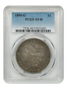 1895-o 1 Pcgs Xf40 - Key Date From New Orleans - Morgan Silver Dollar