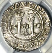 1554 Pcgs Au 55 Mexico 4 Reales Carlos And Joanna Silver Colonial Coin 21071501d