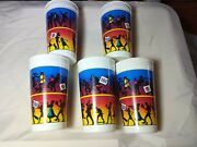 Vintage 80and039s-90and039s Pizza Hut Pepsi Drink Cup Skater Etc. Free Ship
