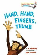 Bright And Early Booksr Ser. Hand Hand Fingers Thumb By Al Perkins 1969...
