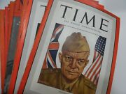 80 Issue Lot Vintage Time Magazine From 1930-1942 Japan China Germany Cuba Etc
