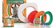 Cat Toilet Training System By Litter Kwitter - Teach Your Cat To Use The Toil...