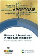 Glossary Of Terms Used In Molecular Toxicology By John Duffus English Hardcove