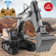22 Channel 114 Rc Construction Rc Excavator Upgraded Metal Bucket -latest Model