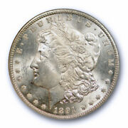 1891 Cc 1 Morgan Dollar Ngc Ms 64 Uncirculated Cac Approved Carson City Mint