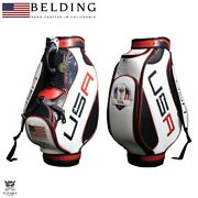 Belding Ryder Cup 2016 Limited Collection Hbcb-95077r Caddy Bag New 9.5