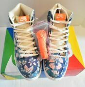 ☘nike Sb Dunk High Hawaii Remove Upper To Reveal Other Designbrand New Size 11