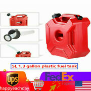 Jerry 5l Cans Gas Fuel Tank Atv Off Road Motorcycle Gas Oil Storage 1.3 Gallon