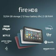 All New Kindle Fire Hd 8 Tablet 32gb With Alexa 10th Gen 2020 Uk Stock