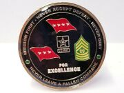 United States Army Training And Doctrine Command Tradoc Csm 2 Challenge Coin