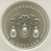 Rare Appraisal Number 8 2021 Canada Lovers Not Tiara 20 Silver Coin