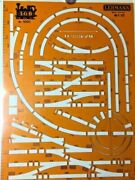 Lgb 10010 G Scale Layout Track Template