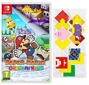 Nintendo Switch-paper Mario The Origami King Switch Game New