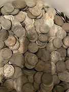 Lot X 400 Buffalo Nickels As They Come Cull Or Better Free Priority Shipping