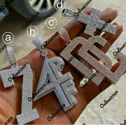 Menand039s Customized Name An Number Letter Sings Name Custom Design Cross Pendant