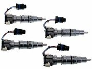 For 2004-2007 Ford F550 Super Duty Fuel Injector 27823pb 2005 2006 6.0l V8