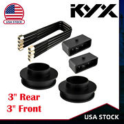 3 Front And 3 Rear Lift Kit For 1999-2007 Chevy Silverado Gmc Sierra 1500 2wd