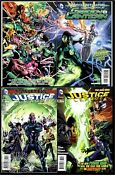 Green Lantern 20+justice League 30 And 311st Jessica Cruzcgc And039em9.8set Of 3