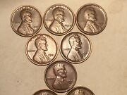 1920-1929 Pds Lincoln Wheat Cents Bold Dates On A Nicer Grade Coin Set