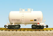 Usa Trains R15201 G Undecorated Beer Can Tank Car White