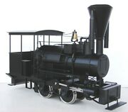 Moloco The Betsy F Scale Powered Steam Locomotive 120.32 Scale