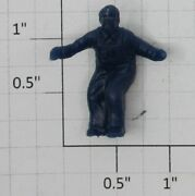 Lionel 3464-17db Dark Blue Unpainted Operating Boxcar Figure With Both Arms Out