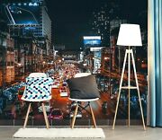3d City Street A623 Transport Wallpaper Mural Self-adhesive Removable Amy