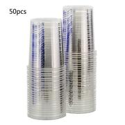 50pcs Disposable Clear Graduated Plastic Mixing Cups For Paint Uv Resin Epoxy
