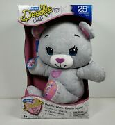 The Original Doodle Bear 25th Anniversary Limited Edition W/washable Markers