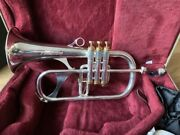 Phaeton Phtf-2700 Flugelhorn In Silver Plate With 18k Gold Accents