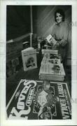 1982 Press Photo Terry Kovel Author Of Guide Books On Antiques And Collectibles