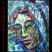 Original Oil█painting█palette Knife█impressionism█art Signed Abstract Outsider A
