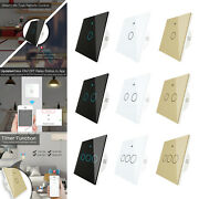 Multifunctional Wall Touch Smart Light Switch Voice Control Timing Setting
