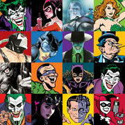 Alex Ross Faces Of Evil Giclee On Canvas