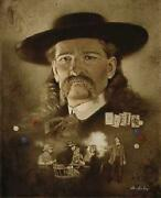 Don Crowley Wild Bill Hickok The Premonition Canvas Giclee