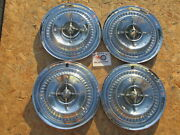 1959 Buick Lesabre, Electra 15 Spinner Wheel Covers, Hubcaps, Set Of 4