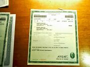 Missouri Certificate Of Title For 1965 Chevy Impala For Automobilia Collectors