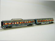 Mth Railking North Pole 60and039 Streamlined Passenger Car 4pk O Gauge 30-68204 New