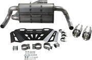 Flowmaster Xdr Competition Exhaust Stainless Steel/black Fits Yamaha Yxz1000r