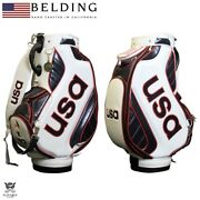 Belding Olympic Official Team Usa Hbcb-950083 Caddy Bag New 9.5