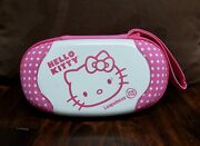 Leap Frog Leapster Gs Explorer Hello Kitty Carrying Case With Game Cartridges