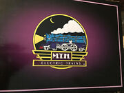 Mth 1134 Ives Steam Loco And Tenderblack Contemporary Version10-1123-1very Rare