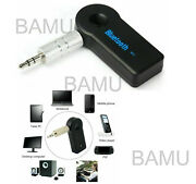 Bluetooth Wireless 3.5mm Aux Stereo Music Audio Car Home Reciever Adapter Us