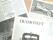 S 1946 Diamond T Almost Station Wagon Prototype 4 Pages Info