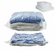 Space Saver Vacuum Seal Storage Bags For Cloths Comforters And Blankets Compr