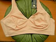 Wacoal 852389 38ddd How Perfect, Full Coverage Wirefree Bra Pale Pink685 Nwt