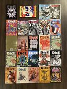 Dice Magazine Lot - Collectible Motorcycle Magazines